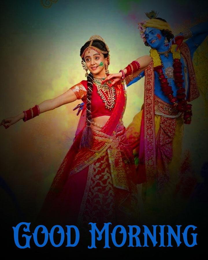 Radha Krishna Good Morning Images 2021