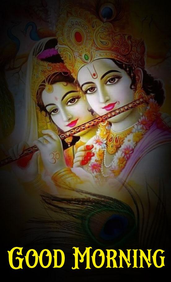 Radha Krishna Good Morning Images for facebook