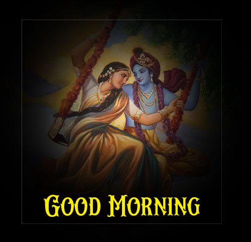 Radha Krishna Good Morning Images for insta