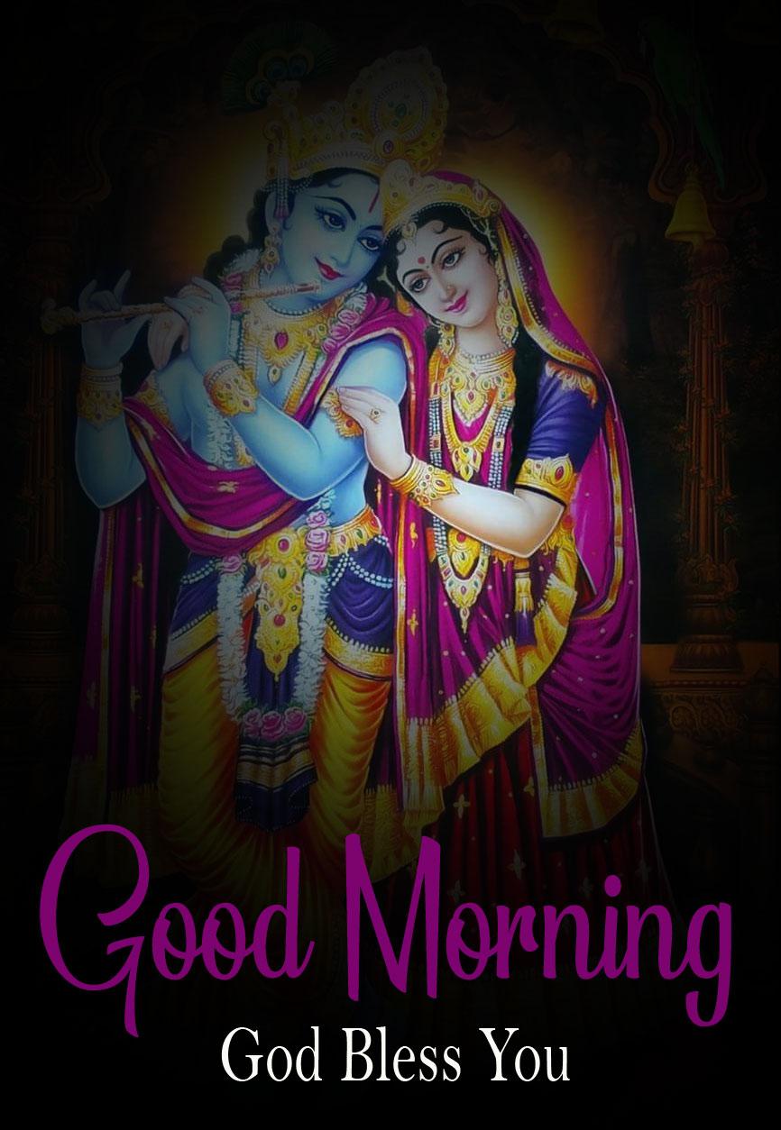 Radha Krishna Good Morning Images photo for download 2021
