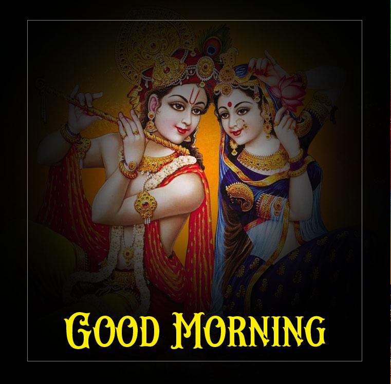 Radha Krishna Good Morning Images photo for fb