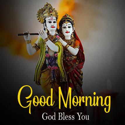 Radha Krishna Good Morning Images pics for dad
