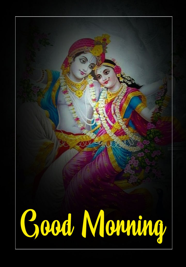 Radha Krishna Good Morning Images pictures pics