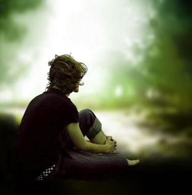 Sad Alone boy whatsapp dp Pics Free