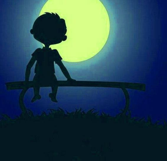 Sad Alone boy whatsapp dp Pics