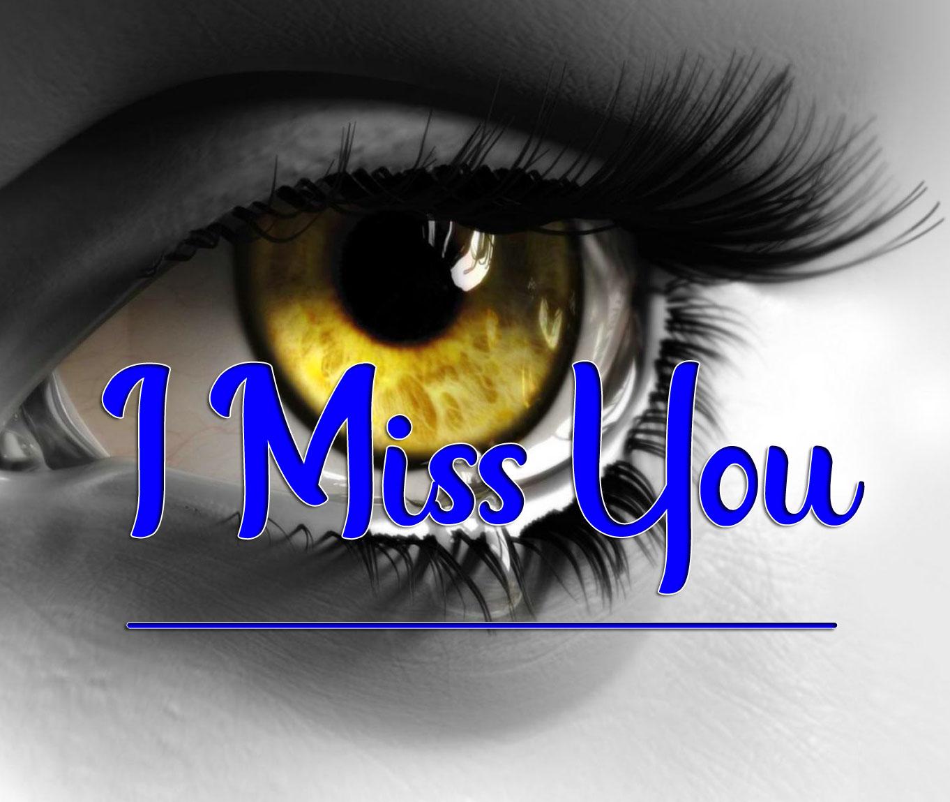 Sad Eye I miss you Images