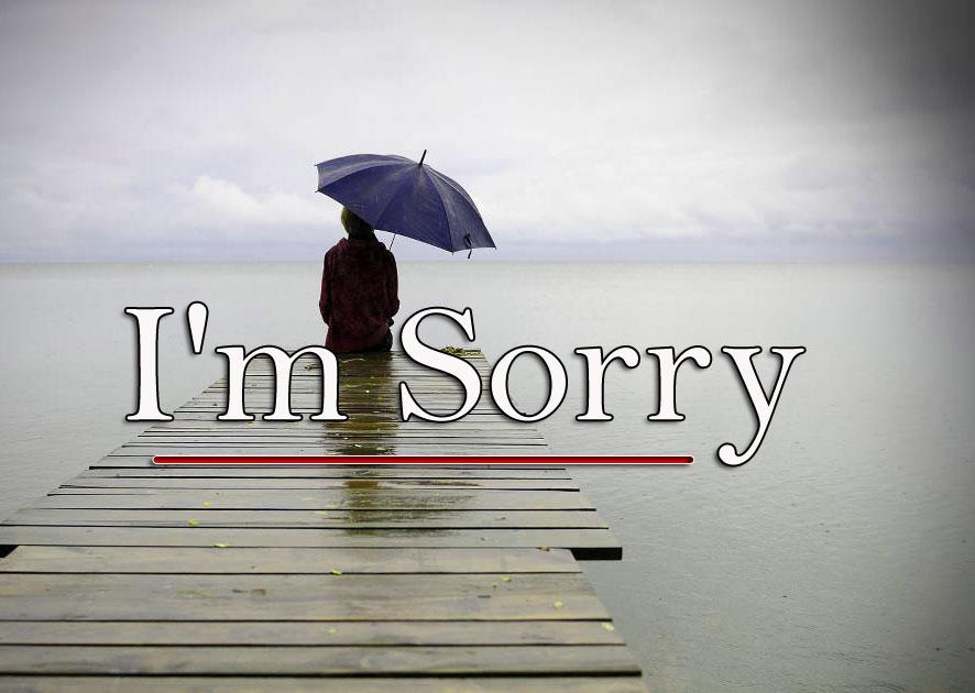Sad l am sorry