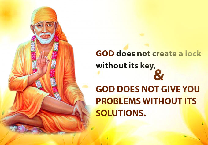 Sai Baba Blessing Images for quotes