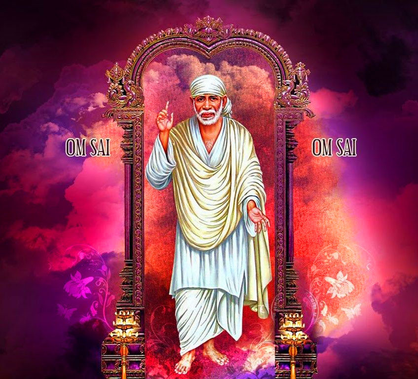 Sai Baba Blessing Images photo pictures