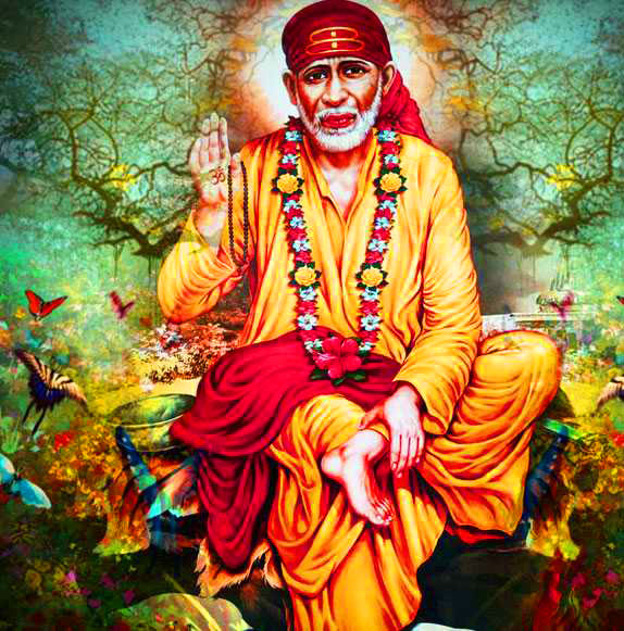 Sai Baba Blessing Images pictures download