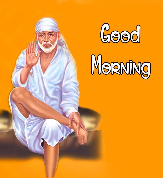 Sai Baba Good Morning Images photo for whatsapp