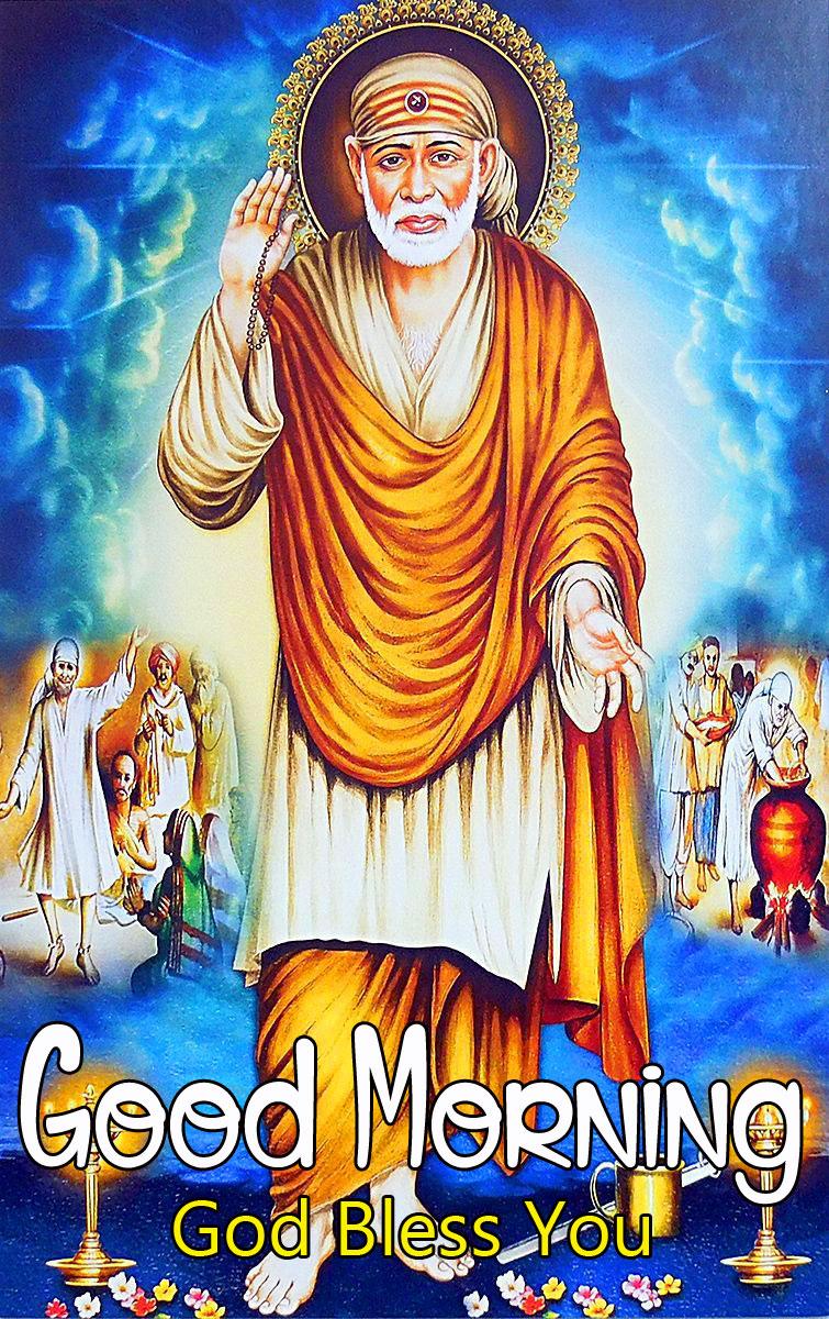 Sai Baba Good Morning Images photo free hd