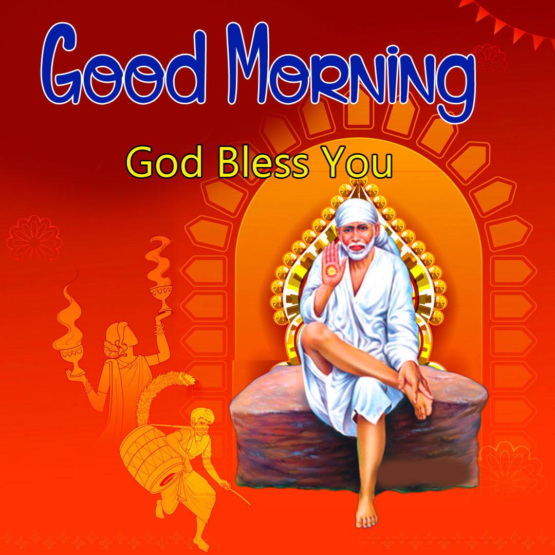 Sai Baba Good Morning Images photo hd