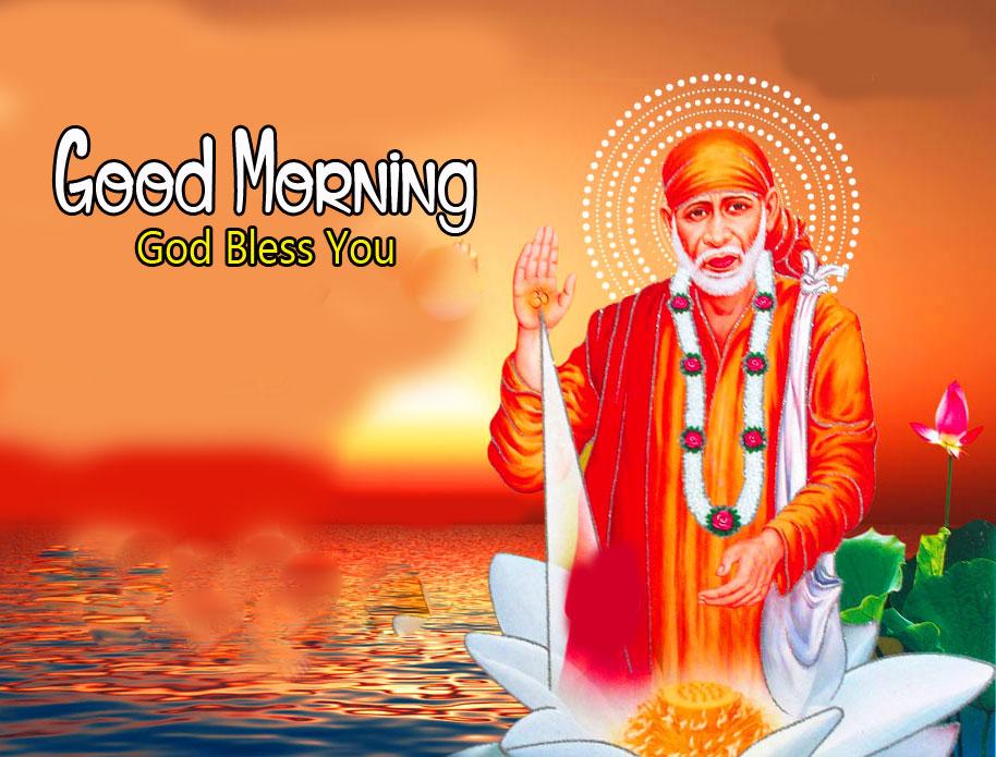 Sai Baba Good Morning Images photo pics for hd