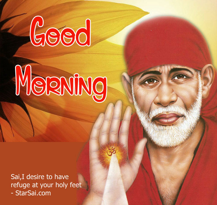 Sai Baba Good Morning Images photo pics