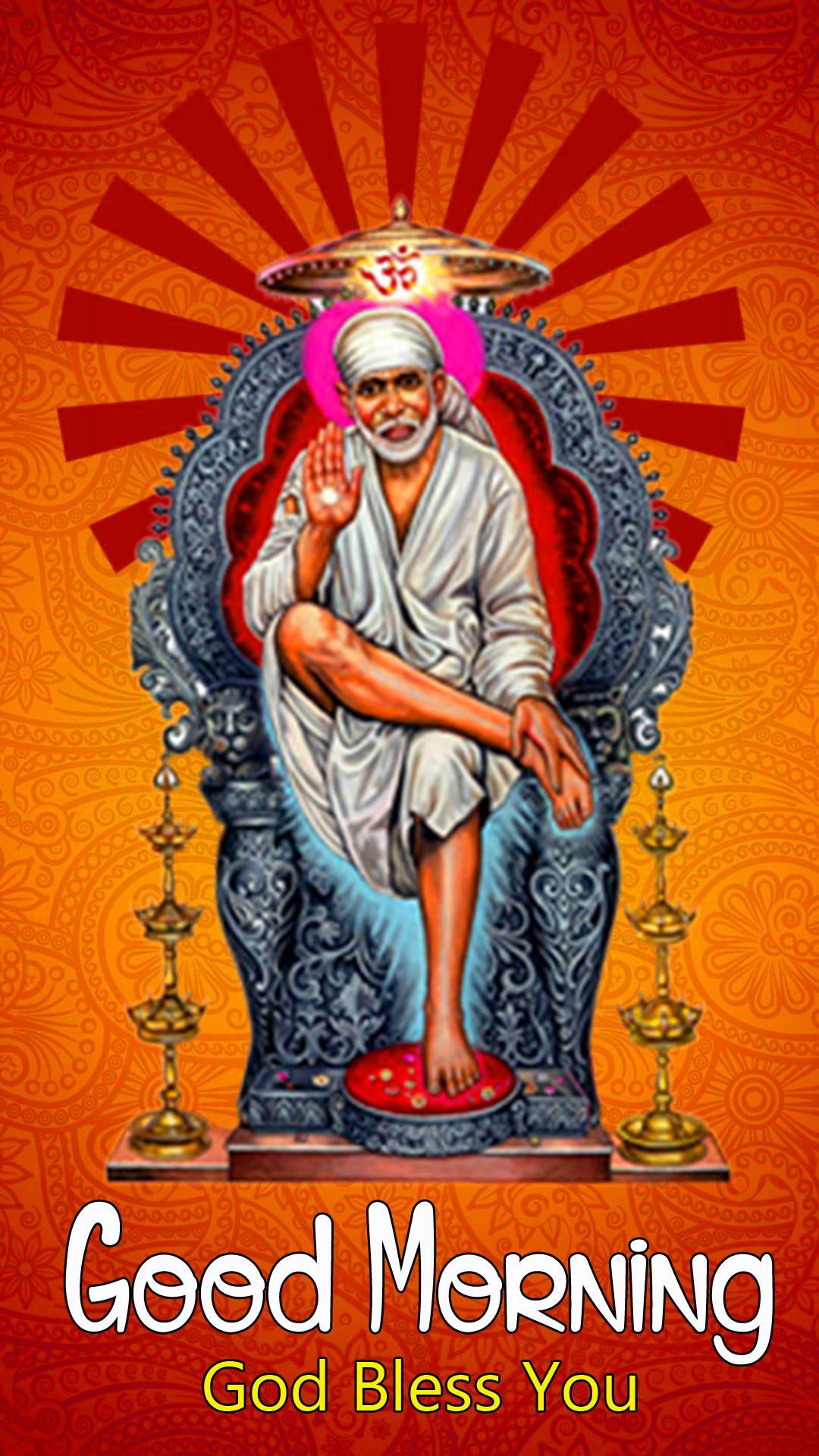 Sai Baba Good Morning Images pics for download