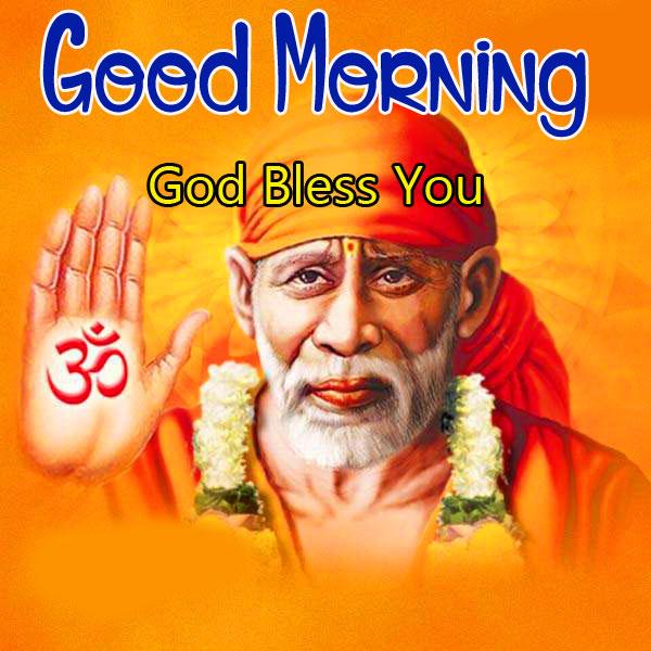 Sai Baba Good Morning Images pics for fb
