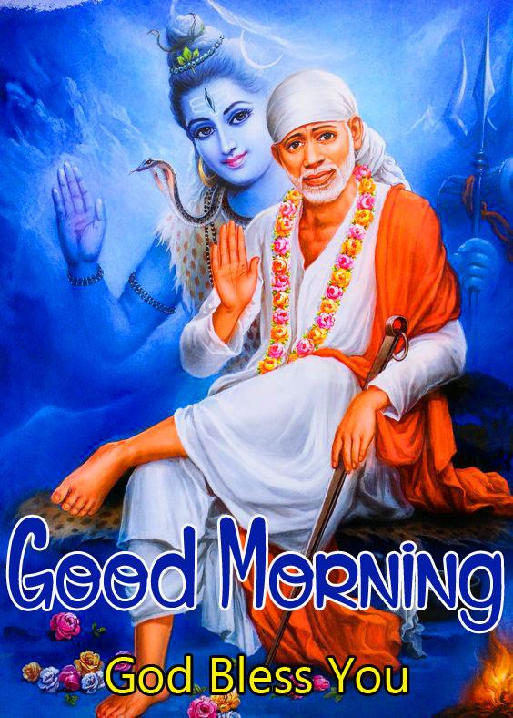 Sai Baba Good Morning Images pics photo hd
