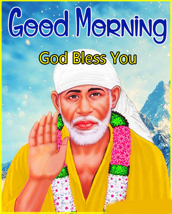 Sai Baba Good Morning Images pictures free hd