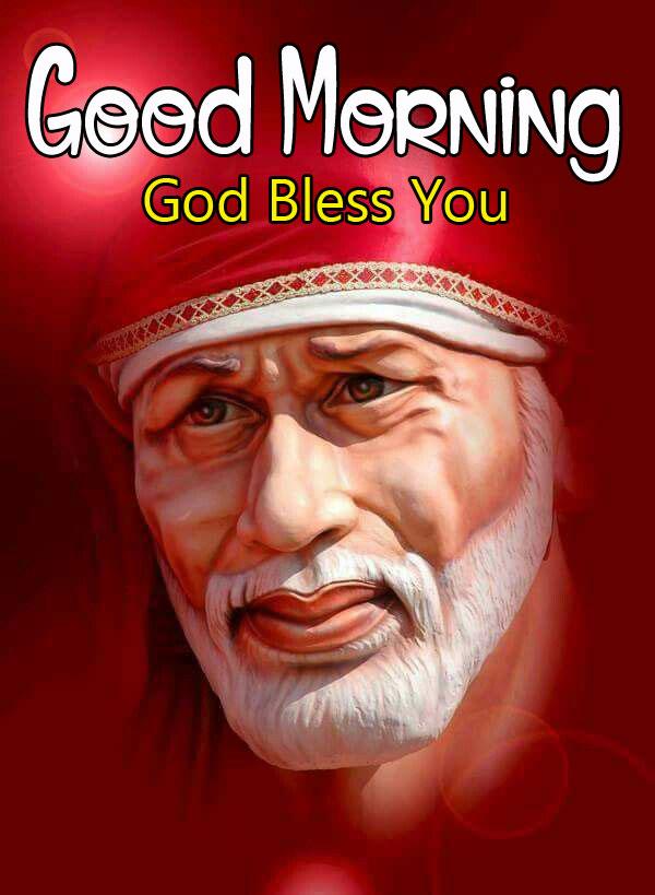 Sai Baba Good Morning Images wallpaper free hd download