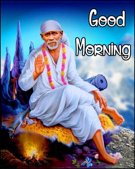 Sai Baba Good Morning Images wallpaper free hd