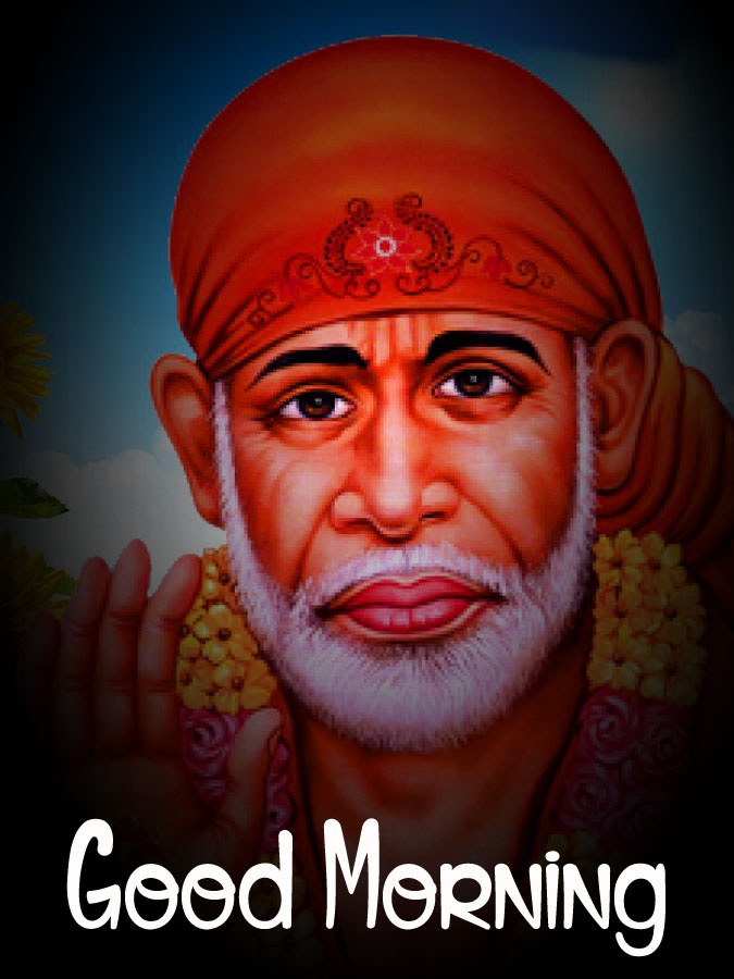 Sai Baba Good Morning Images wallpaper hd download
