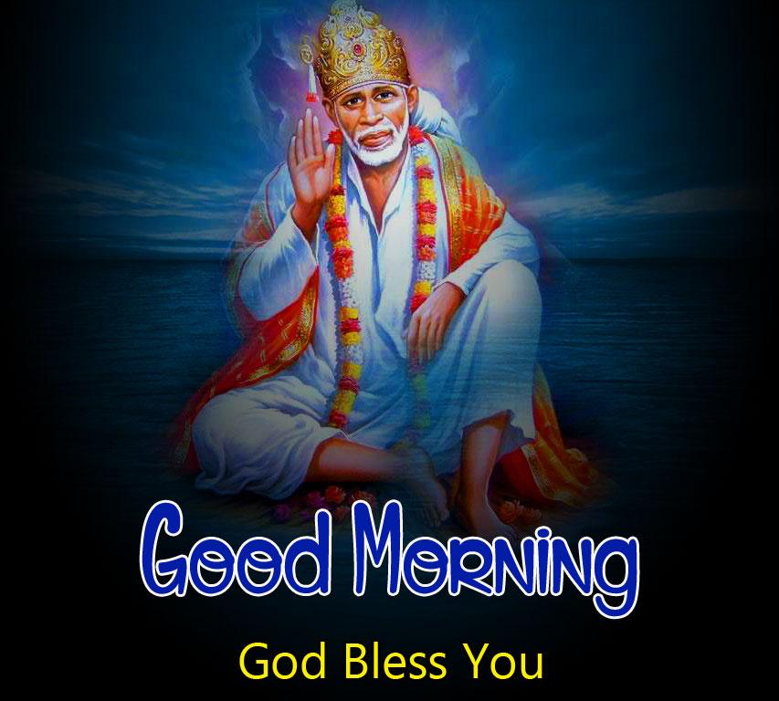 Sai Baba Good Morning Images wallpaper hd