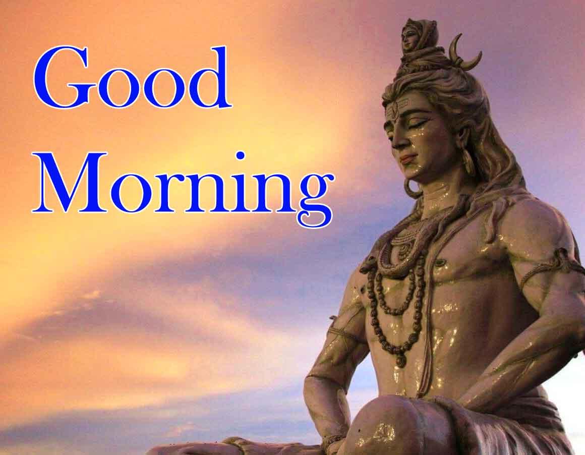 Shiva HD Good Morning Images