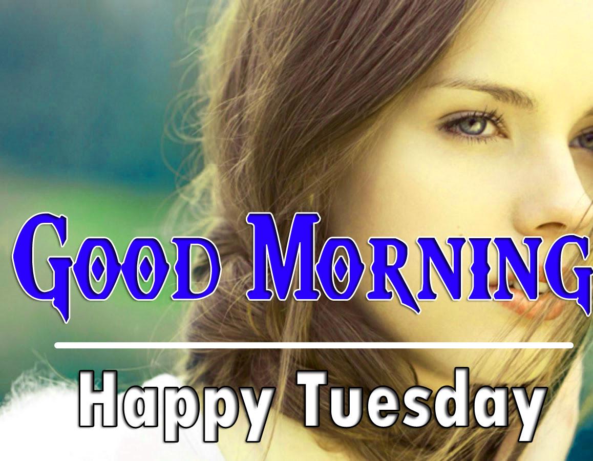 Stylish Girls Tuesday Good morning Images