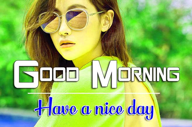 Stylish Girls good morning Whatsapp dp Images