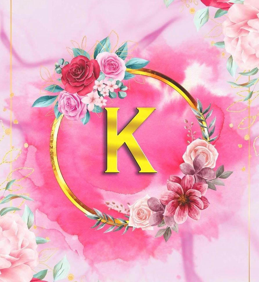 Stylish K Letter Dp Hd Free