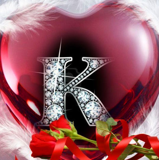 Stylish K Name Dp Images for dad