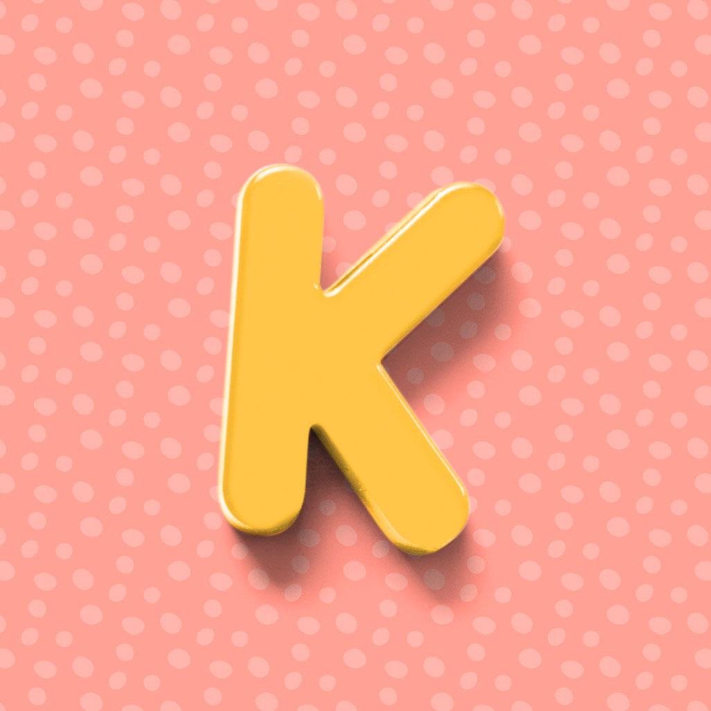 Stylish K Name Dp Images photo hd 2021