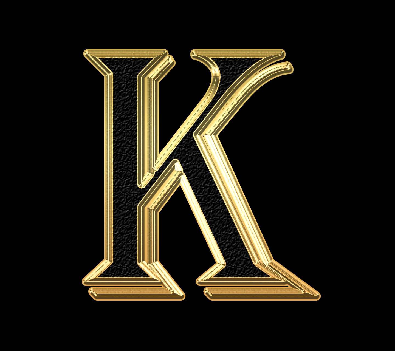 Stylish K Name Dp Images pics free hd download