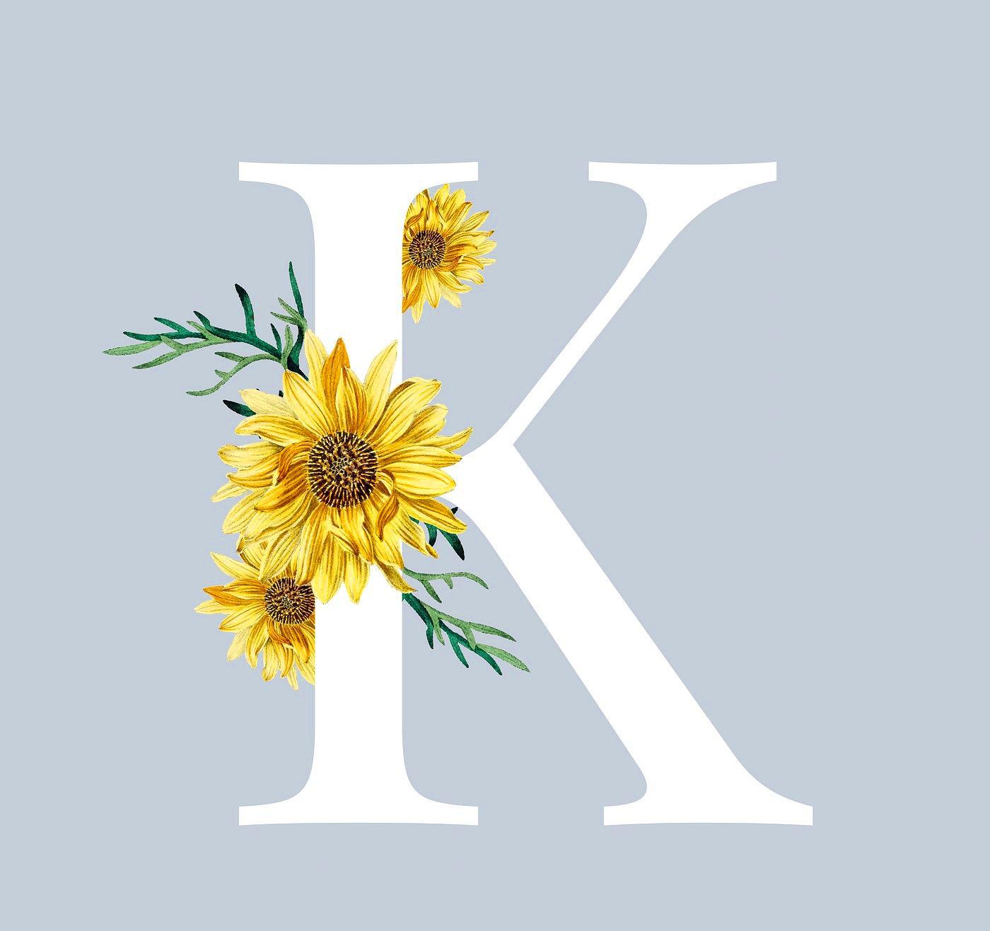 Stylish K Name Dp Images wallpaper free hd
