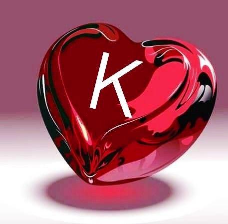 Stylish K Name Dp Images