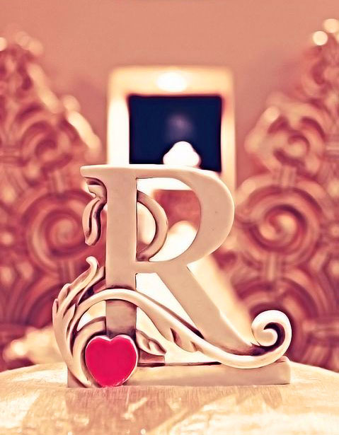 Stylish R Name Dp Images photo hd