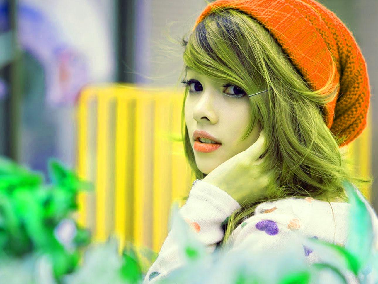 Super Stylish Beautiful Girls Images Pics