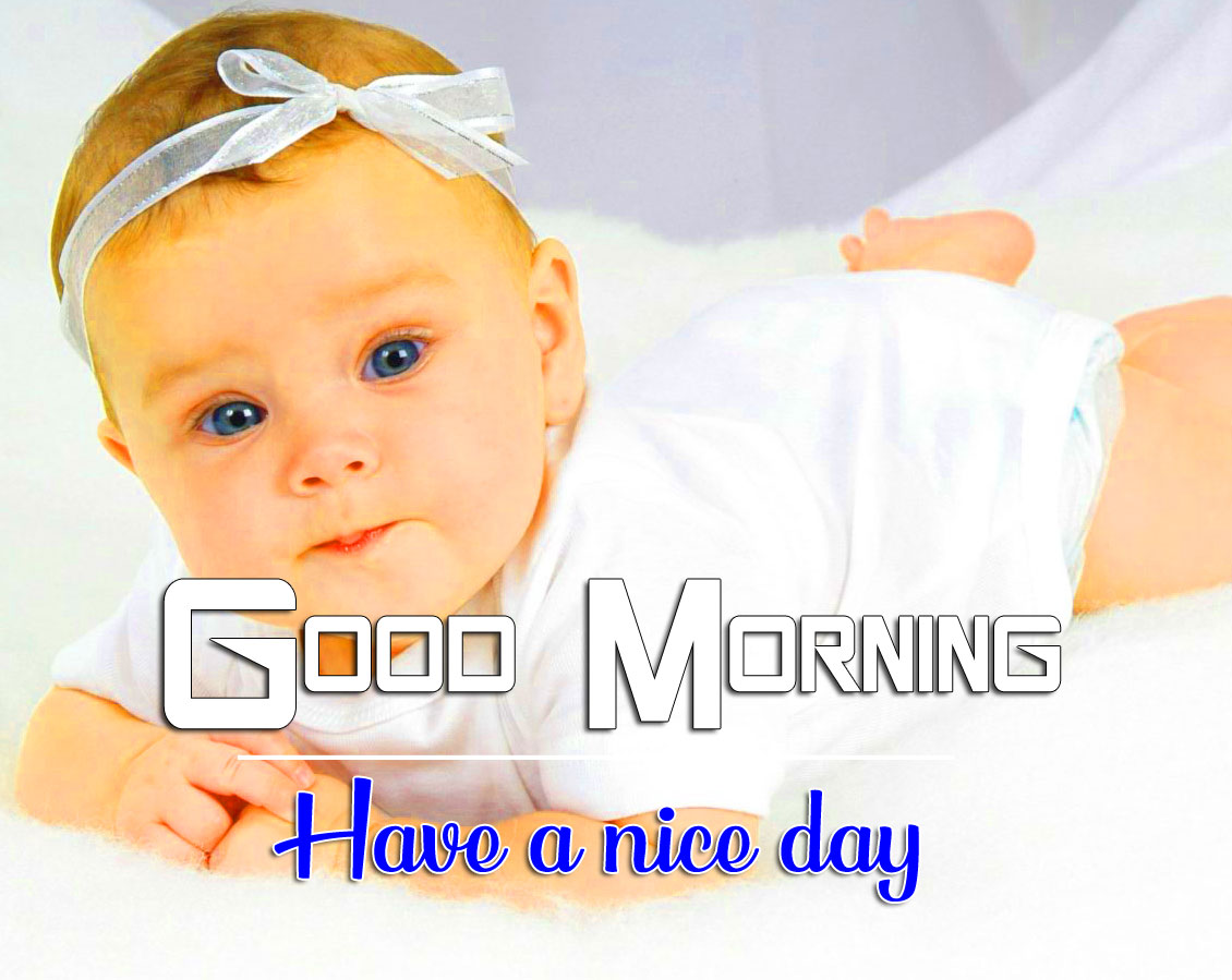 Sweet baby hd Good Morning Wishes