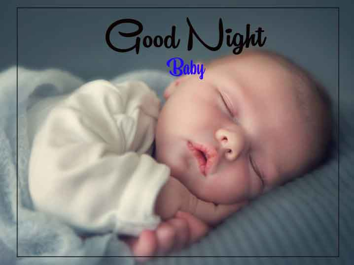 Top HD good night cute baby Images