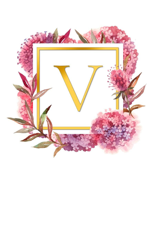 V Name Dp Images pics hd 2