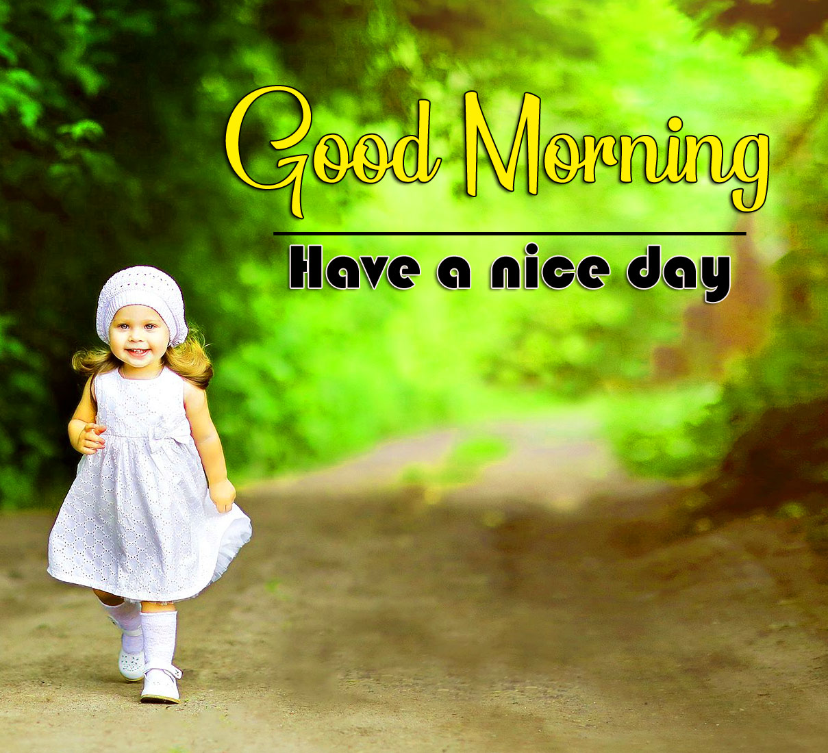 Very Cute Baby good morning Whatsapp dp Images