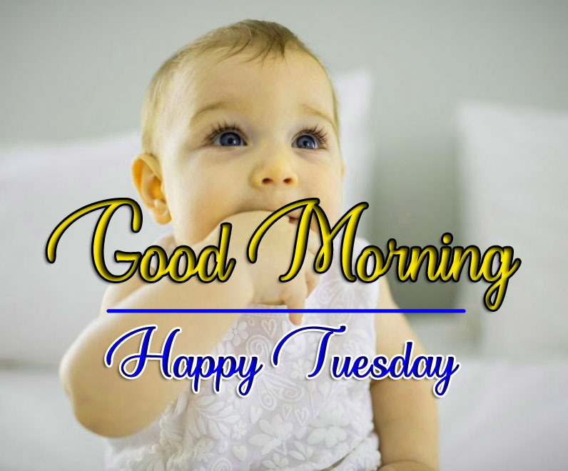 Very Cute baby Tuesday Good morning Images