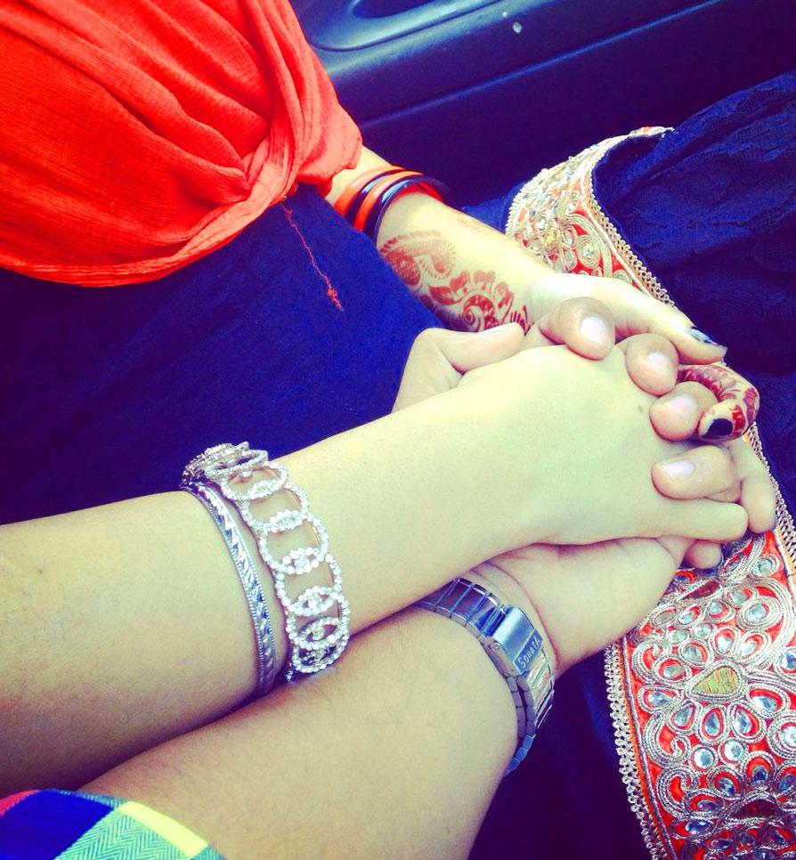 Weddind Couple punjabi dp Whatsapp Images