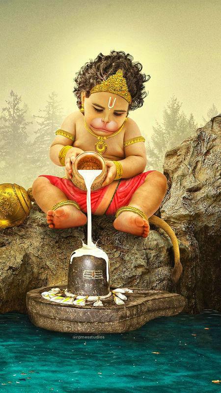 bal hanuman hd God Dp Images