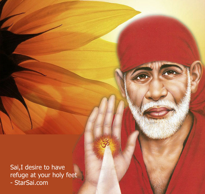 best Latest Sai Baba Blessing Images