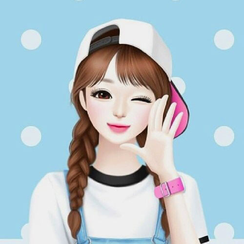 cartoon Attractive Cute Whatsapp Dp Images