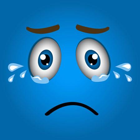 crying Sad Cartoon Dp Images