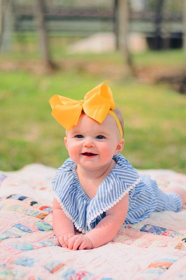 cute baby v