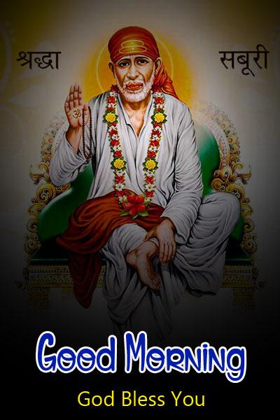 download 2021 Sai Baba Good Morning Images pics